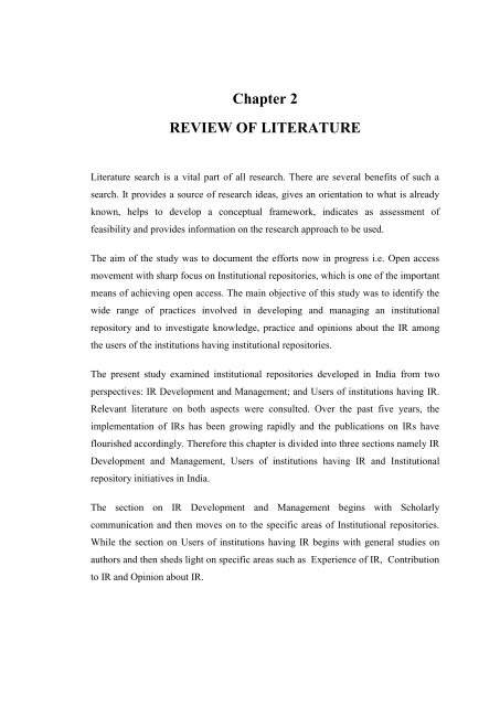 2 literature review how to write literature review for scientific paper