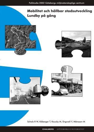 Mobilitet och hållbar stadsutveckling Lundby på gång