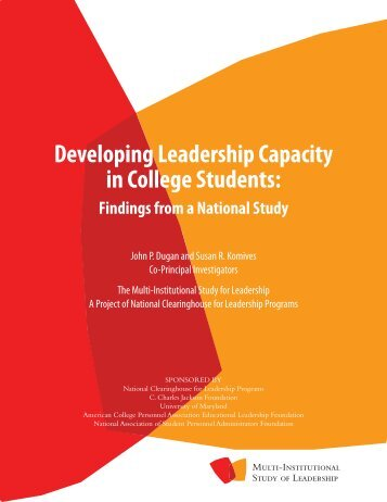 Developing Leadership Capacity in College Students