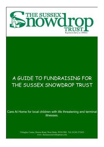 THE SUSSEX SNOWDROP TRUST
