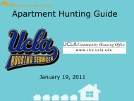 Apartment Hunting Guide