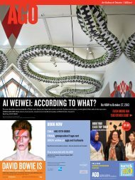 ai weiwei according to what? david bowie is