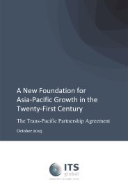 A New Foundation for Asia-Pacific Growth in the Twenty-First Century