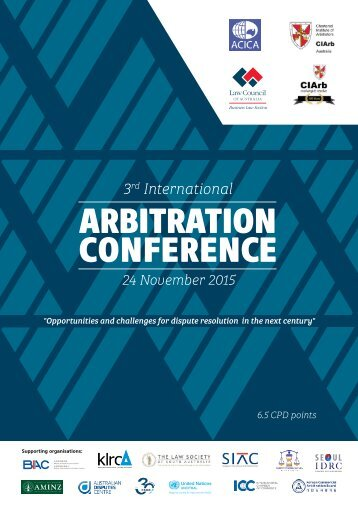ARBITRATION CONFERENCE