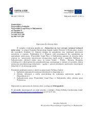 więcej - Wojewódzki Urząd Pracy w Białymstoku