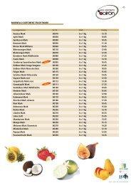 Ananas Mark 80010 6 x 1 kg 13.10 Apfel Mark 80030 6 x 1 kg 10.85