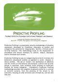 Predictive Profiling - Page 2