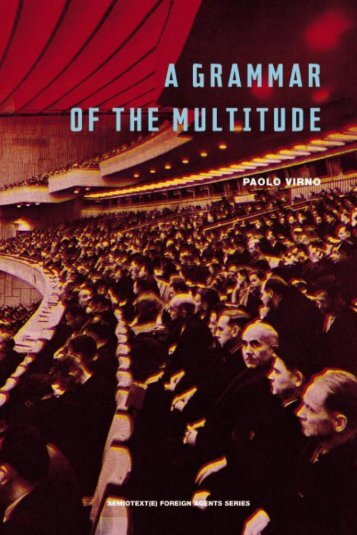 A Grammar of the Multitude