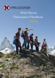 View/Download a PDF of the SIS Parent Information Booklet - Leysin ...
