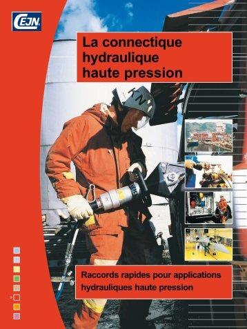 La connectique hydraulique haute pression