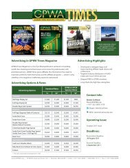 Advertising in GPWA Times Magazine Advertising Options & Rates ...