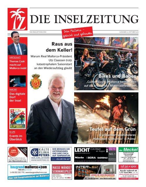 Die Inselzeitung Mallorca Oktober 2015