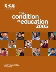 U.S Department of Education Institute of Education Sciences NCES 2005–094