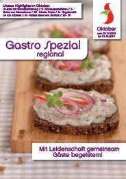 Gastro Spezial Oktober 2015