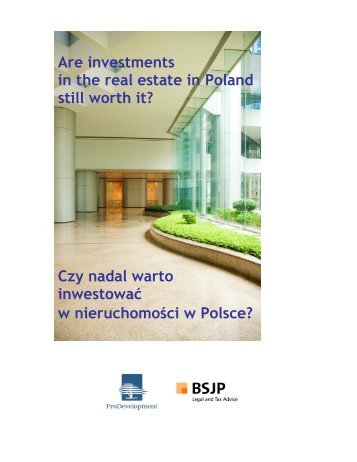 Czy nadal warto inwestować w nieruchomości w Polsce? - Mazury ...