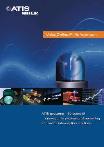 VoiceCollect® | References - ATIS systems GmbH