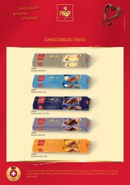 Switzerland's favourite chocolate.