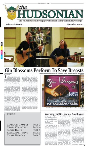 Gin Blossoms Perform To Save Breasts