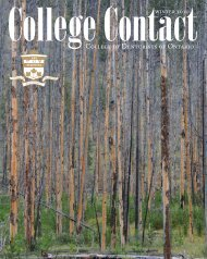 College Contact