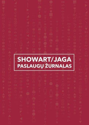 SHOWART|JAGA Paslaugų leidinys