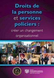 Droits de la personne et services policiers