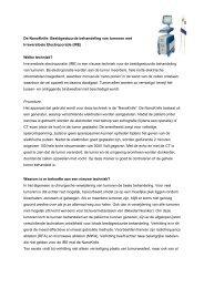 De NanoKnife: Beeldgestuurde behandeling van tumoren ... - SBBvK