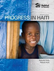 PROGRESS IN HAITI