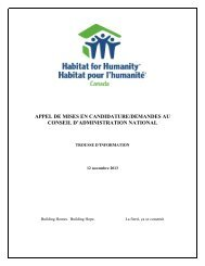 APPEL DE MISES EN CANDIDATURE/DEMANDES AU CONSEIL D'ADMINISTRATION NATIONAL