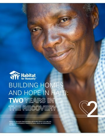 BUILDING HOMES AND HOPE IN HAITI TWO