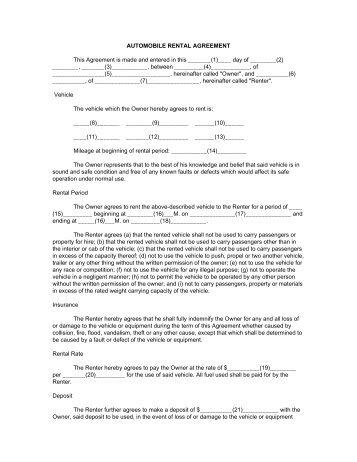 Free Rental Documents Zlatanntanacountryinn