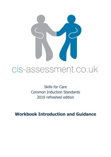 Workbook Introduction and Guidance