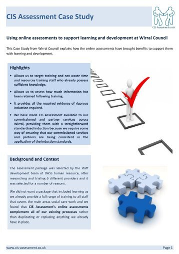 CIS Assessment Case Study