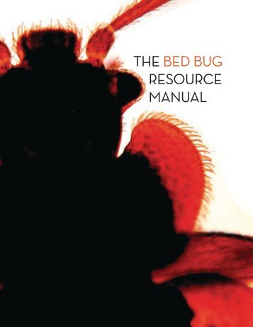 the bed bug resource manual