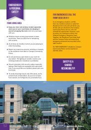 Personal Safety in Residence - Residence at Western