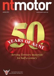 Serving Territory motorists for half a century