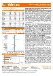 Análisis: Estrategia de inversión semanal - Bankinter