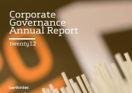 Corporate Governance Annual Report