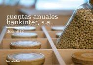 cuentas anuales bankinter s.a