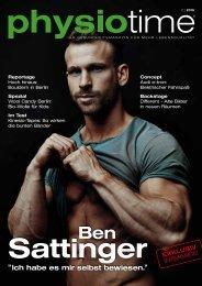 physiotime | Ausgabe 2/2015