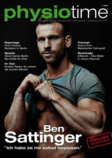 physiotime   Ausgabe 2/2015