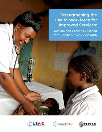 Strengthening the Health Workforce for Improved Services