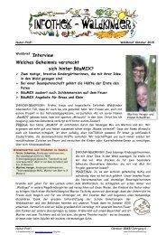 Infothek Waldkinder - Interview - Welches Geheimnis steckt hinter BäuMIX?