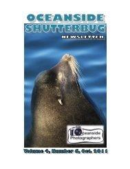 oceanside shutterbug newsletter - Oceanside Photographers Club