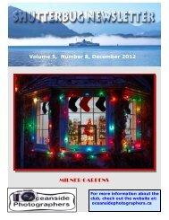 Volume 5 Number 8 December 2012 Milner Gardens