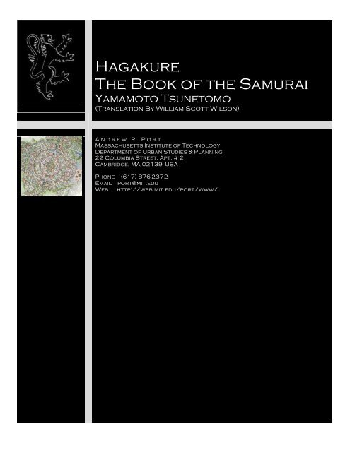 Hagakure The Book Of The Samurai Pdf