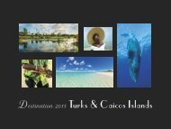 Destination 2015 Turks and Caicos Islands