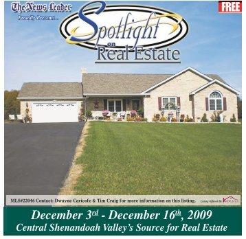 December 3 - December 16  2009