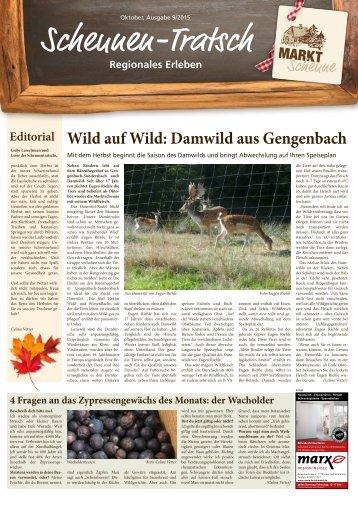 Scheunen- Tratsch Ausgabe Oktober