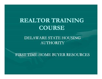 REALTOR TRAINING COURSE