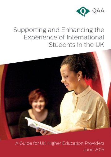 Supporting and Enhancing the Experience of International Students in the UK